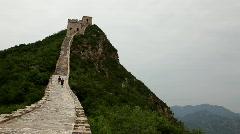 Great wall at Simatai, China - stock footage