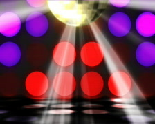 Disco a dancing - stock footage