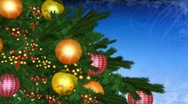 Stock Video Footage of cristmas tree 01