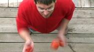 Juggler Stock Footage