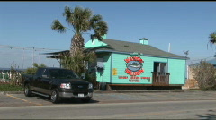 South Padre Wahoo Saloon Stock Footage