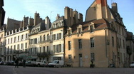 Stock Video Footage of Street in Dijon - France