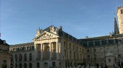 Palais des ducs de Bourgogne - stock footage