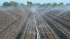 Farm Irrigation - stock footage