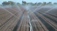 Farm Irrigation Stock Footage