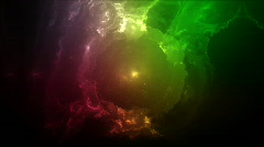 Universe nebula color Stock Footage