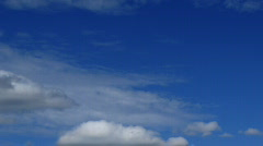 Blue Sky and Clouds 3 - stock footage