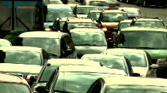 Traffic jam Stock Footage