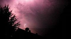 Lightning - stock footage