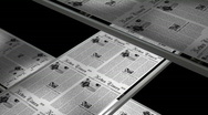 Stock Video Footage of Newspaper printing