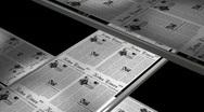 Newspaper printing Stock Footage