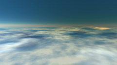 Earth atmosphere (seamless loop) HD 1080p Stock Footage