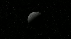 Stock Video Footage of dark moon 1920 1080 h264