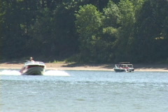 Speed Boats Stock Footage