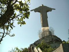 Christ The Redeemer - brazil 3 Stock Footage
