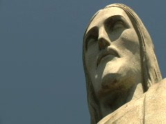 Christ The Redeemer - Brazil 2 Stock Footage