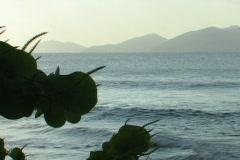 British Virgin Islands Golden Hour Stock Footage