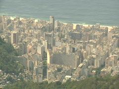 Copacabana Beach - Rio De Janeiro, Brazil Stock Footage