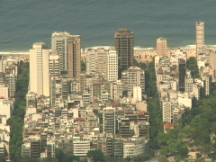 Stock Video Footage of Ipanema Beach - Rio De Janeiro, Brazil