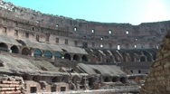 Stock Video Footage of Inside the Colosseum, in Rome
