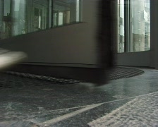Revolving door Stock Footage