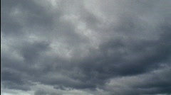 Gray Storm Clouds HD Stock Footage