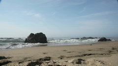 California Beach Stock Footage