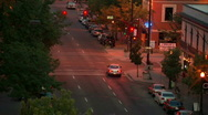 Downtown Nightlife 2 59.94 Stock Footage