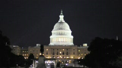 Washington DC Capital HD Travel Government House Senate Stock Footage