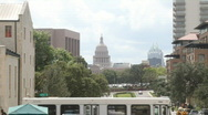 Stock Video Footage of Austin, Texas Capital and Frost Bank Tower