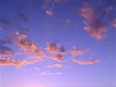 Golden Cloud Sunset 320x240 Stock Footage
