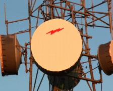 Telecom Tower 01 PAL Stock Footage