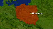 Stock Video Footage of Zooming into Poland