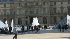 Louvre2 Stock Footage