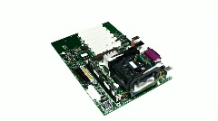 motherboard - stock footage
