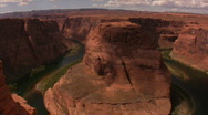 Colorado River Horseshoe Bend 1 Loop wide Stock Footage