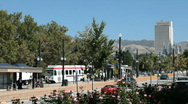 Salt Lake City train pubic transportation P HD 2460 Stock Footage