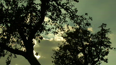 time lapse clouds - stock footage