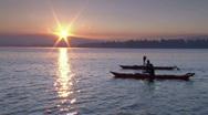 Stock Video Footage of Sunrise Lake Kayak 8 23.98
