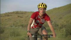 Spring Mountain Biking 2 59.94 Stock Footage