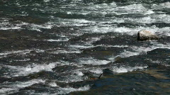 River rapids ripples P HD 2651 Stock Footage