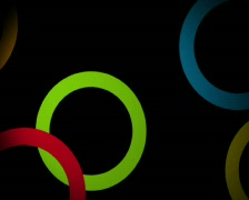 Ellipse Party PAL Stock Footage