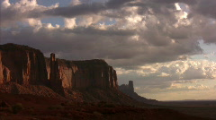 Monument Valley 06 Timelapse Sunrise x20 / Grand Circle, Arizona-Utah, USA Stock Footage
