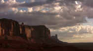 Stock Video Footage of Monument Valley 06 Timelapse Sunrise x20 / Grand Circle, Arizona-Utah, USA