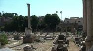 Rome BONUS 2shots in 1 Stock Footage
