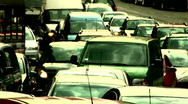 Stock Video Footage of Traffic jam