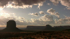 Monument Valley 07 Timelapse Sunrise / Grand Circle, Arizona-Utah, USA Stock Footage