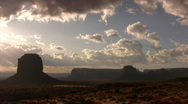 Stock Video Footage of Monument Valley 07 Timelapse Sunrise / Grand Circle, Arizona-Utah, USA