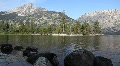 Jenny Lake in Grand Tetons National Park Footage