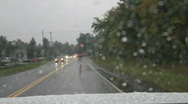 Stock Video Footage of Driving Rain